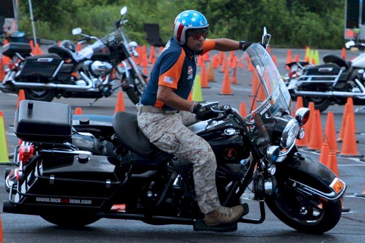 Um treinamento com foco na habilidade com a moto
