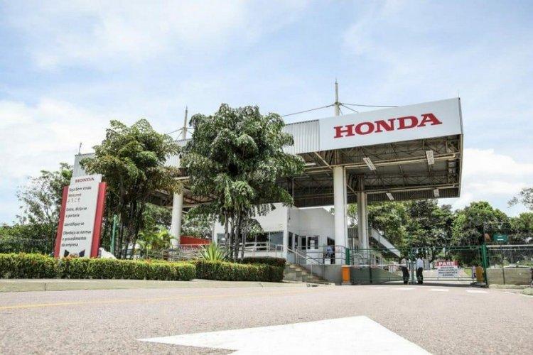 Honda anuncia suspensão temporária da produção