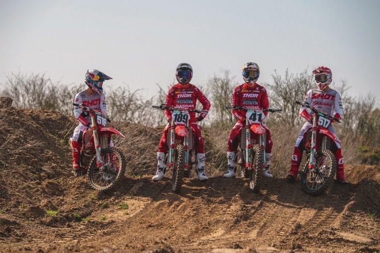 GASGAS apresenta equipe para temporada MXGP