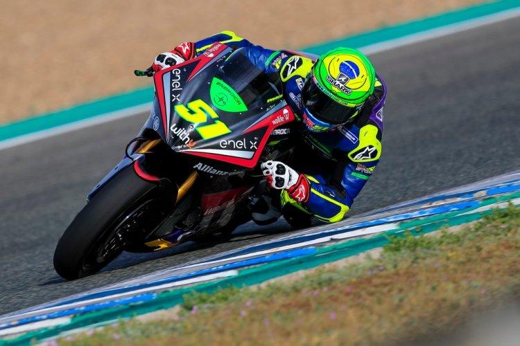 Granado troca de moto na Espanha