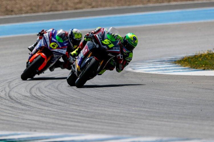 Eric melhora seu tempo em Jerez