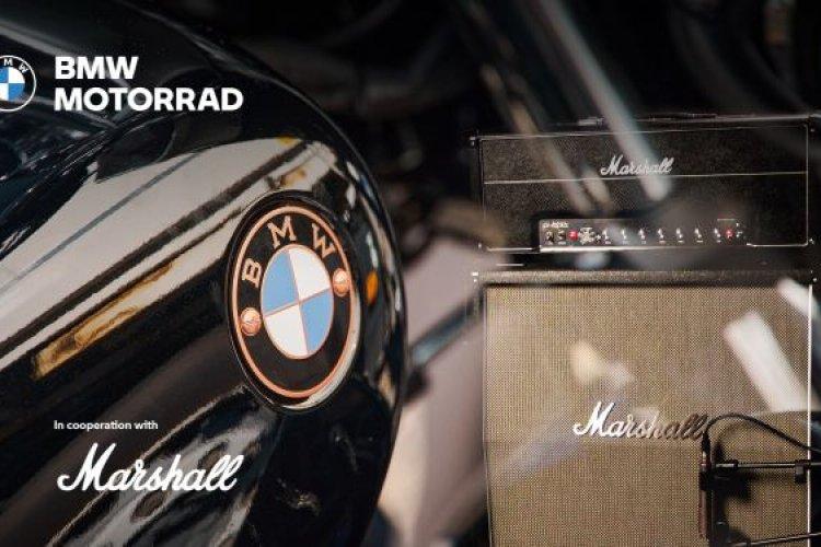 BMW Motorrad e Marshall anunciam parceria