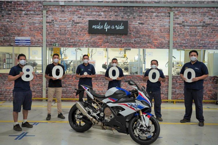 BMW celebra 80 mil motos produzidas no Brasil