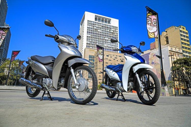 Honda Biz 125 e Biz 110i 2022
