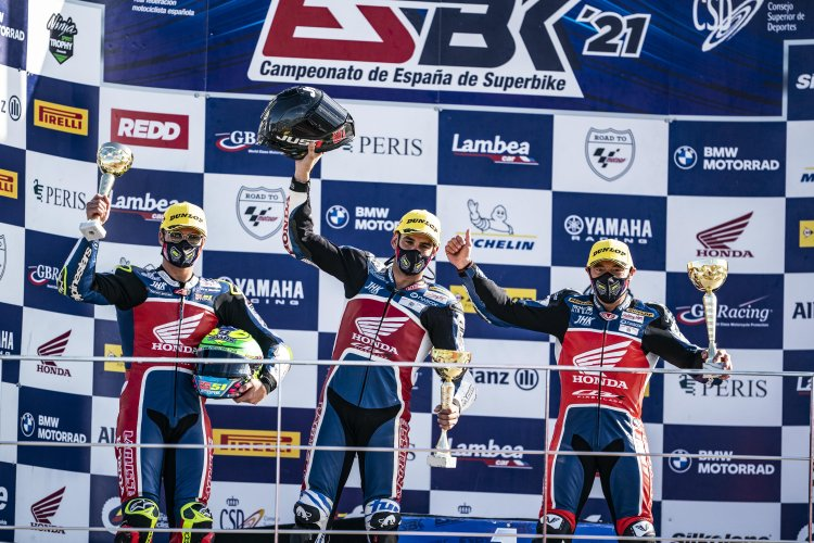 Eric Granado conquista mais um pódio no Espanhol de Superbike