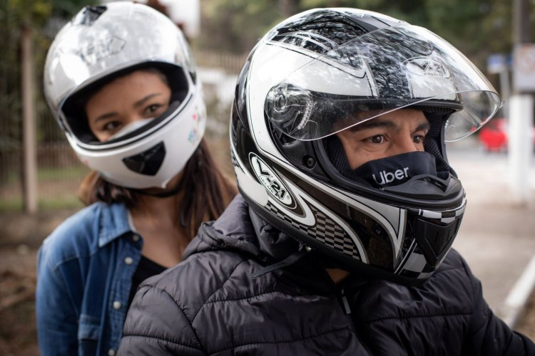 Uber lança viagens de moto em Belo Horizonte, Ribeirão das Neves, Betim e Uberaba