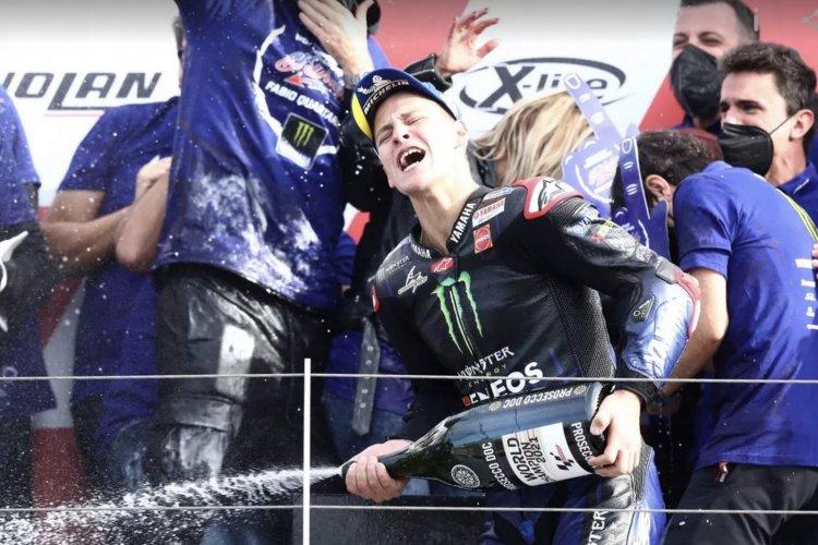 Quartararo conquista título inédito para a França na motoGP
