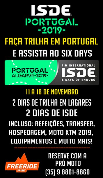 NOVA TURMA - Tour Six Days