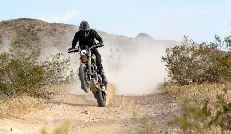 Triumph retorna às competições