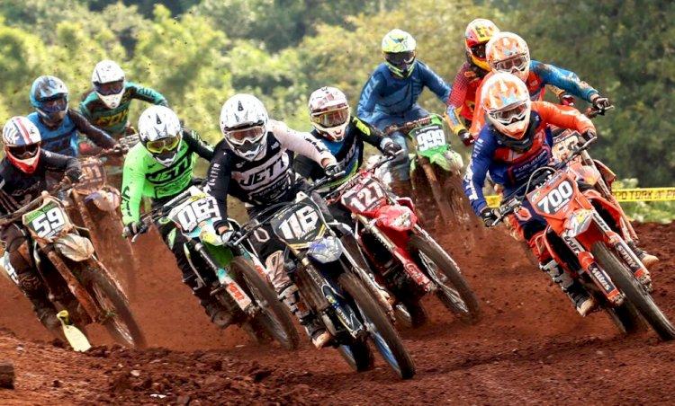 Recorde de pilotos em estadual de Motocross