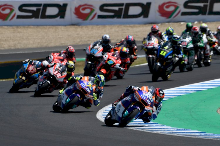 Baldassarri conquista terceira vitória na Moto2