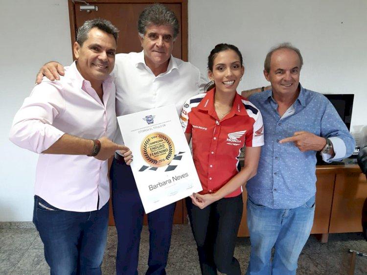 Campeã Latino Americano de Enduro Cross Country