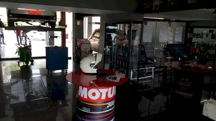 Hotel de luxo para motos