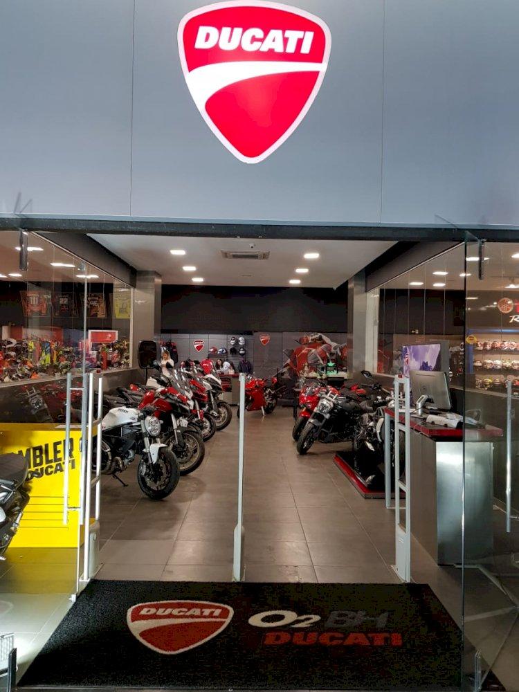Nova loja Ducati em Minas