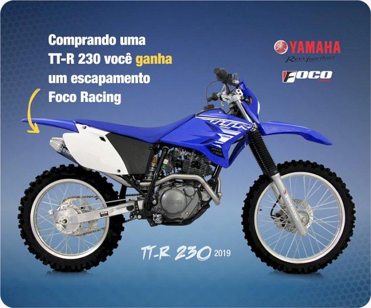 Yamaha TTR-230 com ESCAPE GRÁTIS