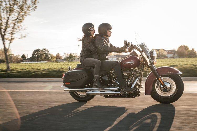 Harley-Davidson sugere rotas românticas