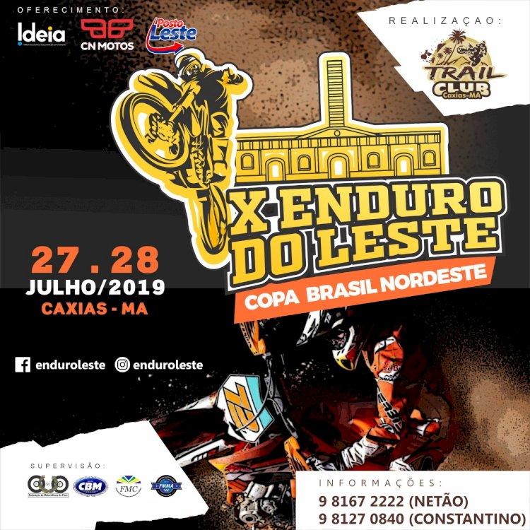 X Enduro do Leste acontece nos dias 27 e 28 de julho em Caxias