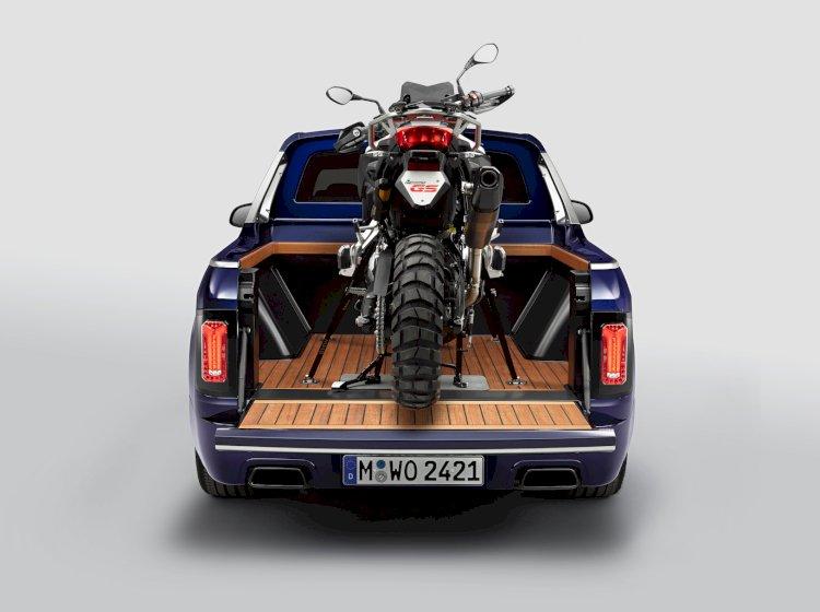 BMW converte modelo X7 em pick-up