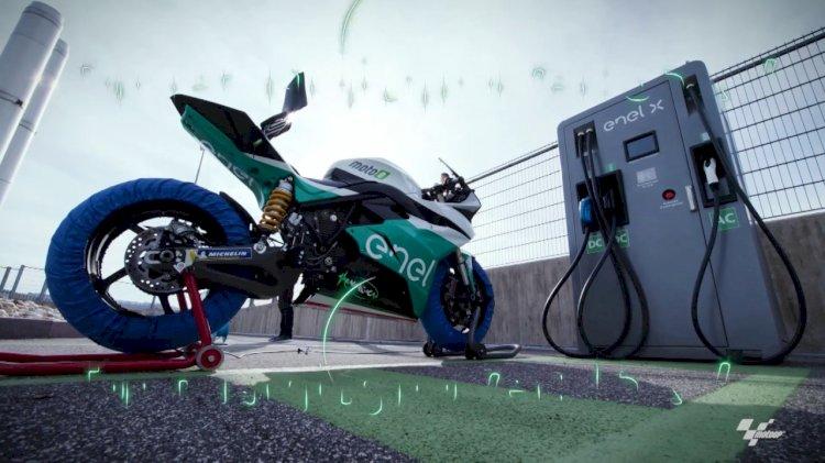 Como foi a 1ª corrida de Motovelocidade com motos elétricas