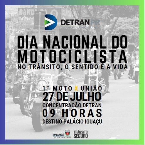 Dia do Motociclista será celebrado com muitas atividades