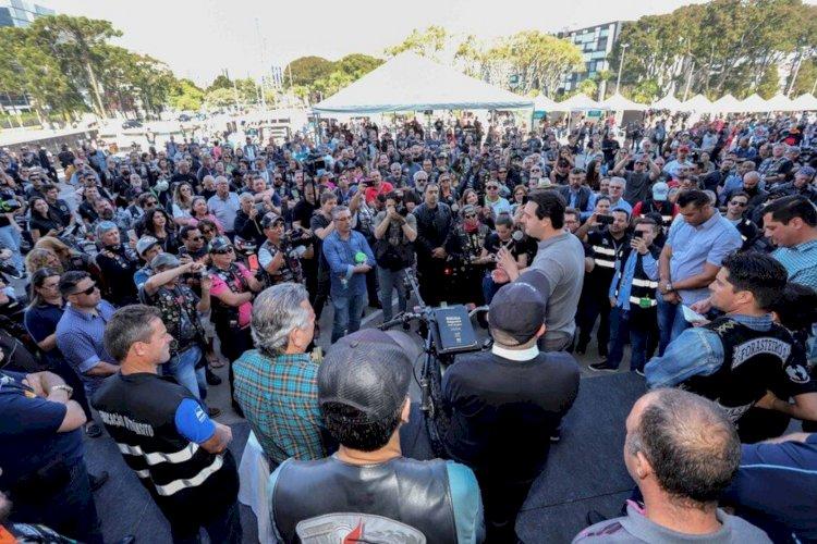 Evento em comemoração ao Dia do Motociclista é sucesso em Curitiba