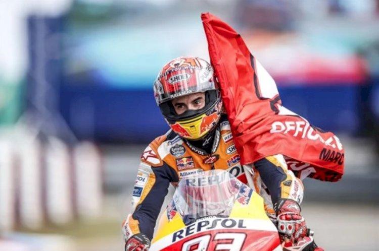 Márquez triunfa mais uma vez na Motogp, dessa vez em Brno