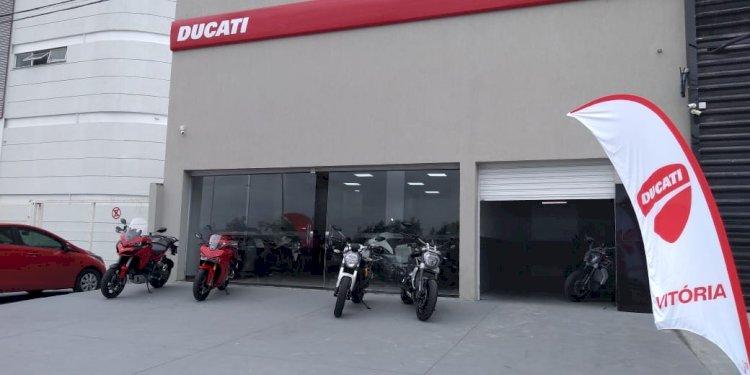 Ducati inaugura nova concessionária
