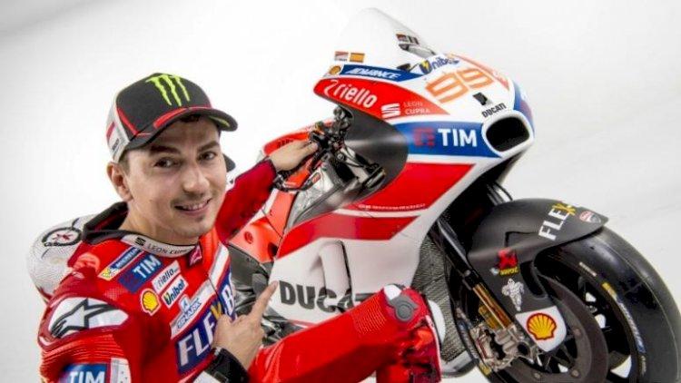 Jorge Lorenzo a caminho da Ducati