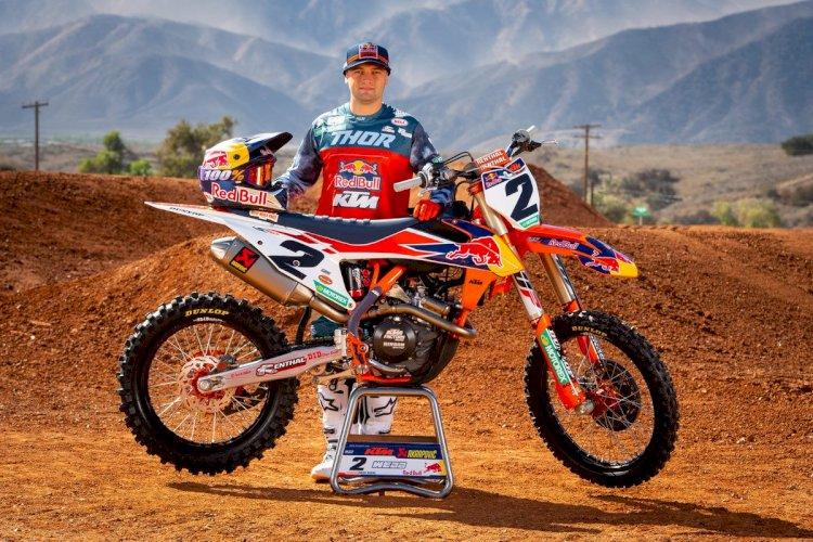 Cooper Webb está fora do AMA Pro Motocross