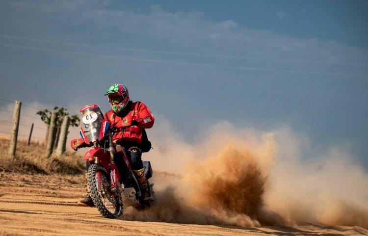 Tunico Maciel é o mais rápido das motos na primeira parte da etapa Maratona do Sertões