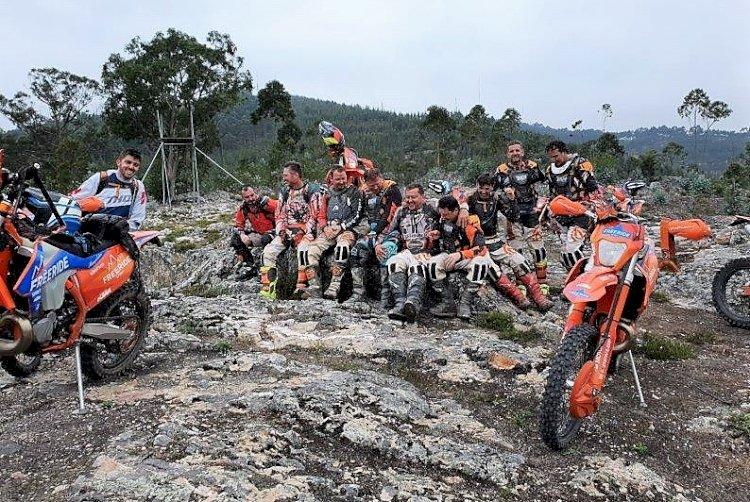 Brasileiros foram a Portugal para andar de moto em agosto