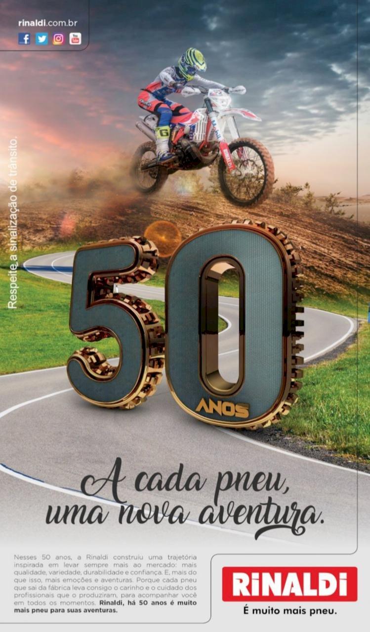 Rinaldi 50 anos