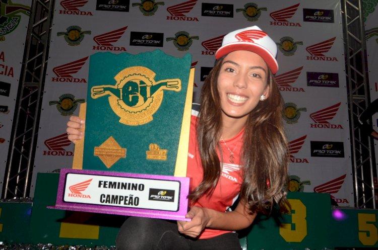 Bárbara Neves é bicampeã do Enduro da Independência