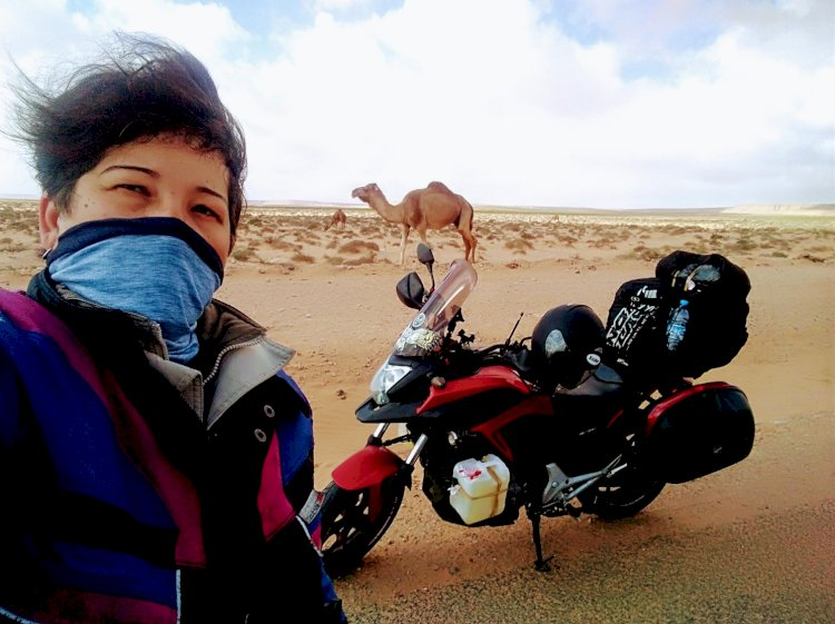 Dez mulheres e uma viagem até o Atacama de moto
