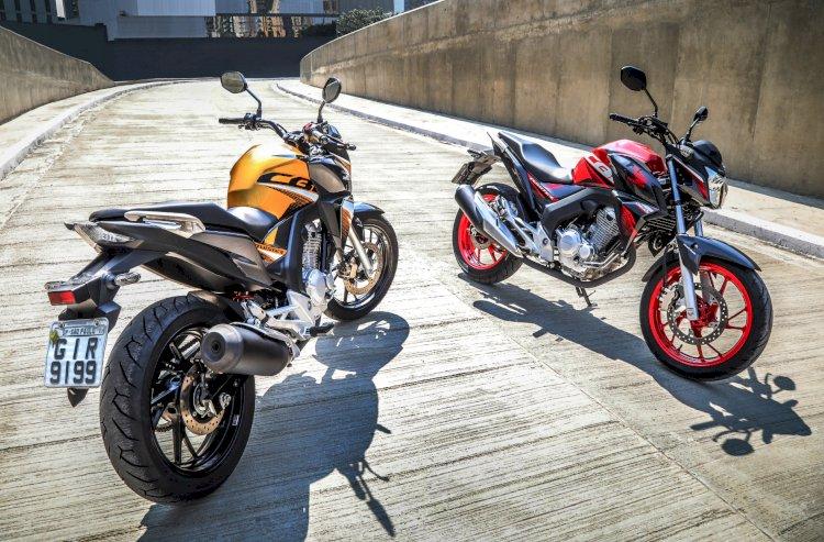 Honda CB 250F Twister 2020 com novas cores
