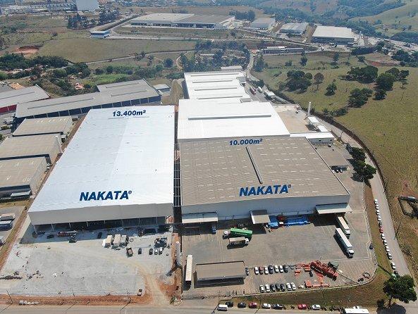 Nakata amplia seu espaço