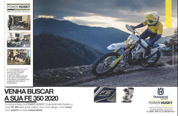 Husqvarnas 2020 já disponíveis no Brasil