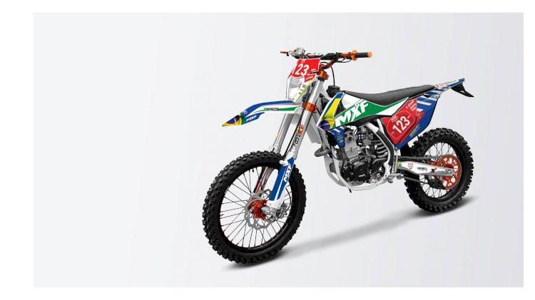 Moto brasileira presente na