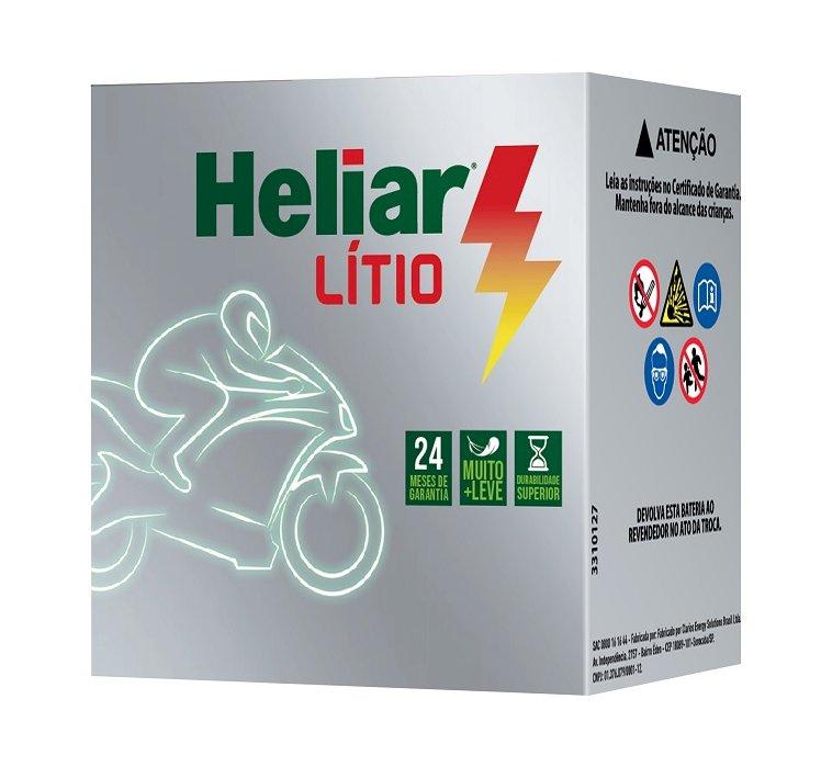 Heliar lança bateria de íons de lítio