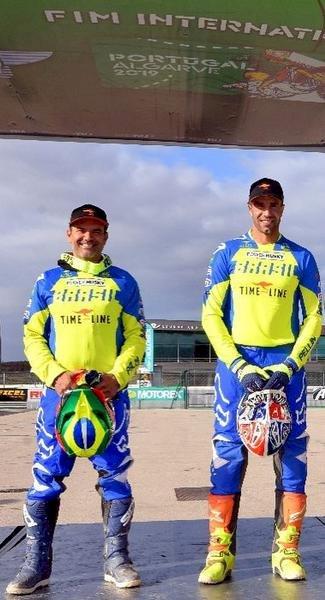 Pellin e Fernandes garantem medalha no ISDE Portugal