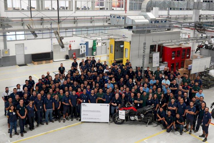 BMW Motorrad celebra 60 mil motocicletas produzidas