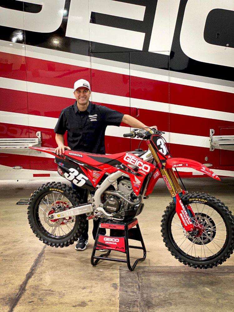 Ryan Dungey de volta as competições nos EUA