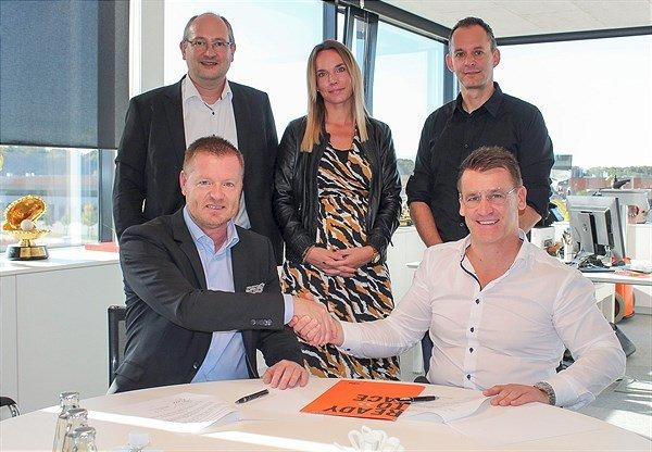A KTM e a DHL renovam parceria para a equipe de Enduro