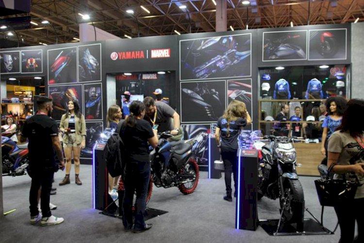 Yamaha e Marvel juntas na CCXP 2019