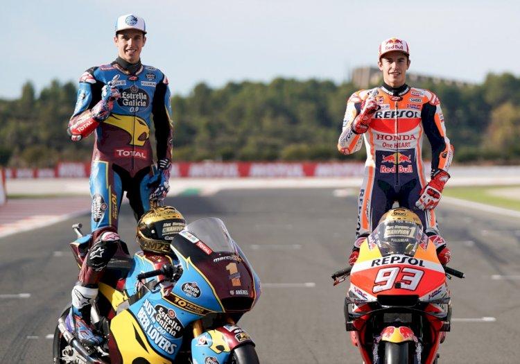 Os irmãos Marquez juntos na na Repsol Honda