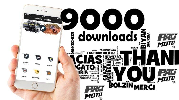 9000 downloads