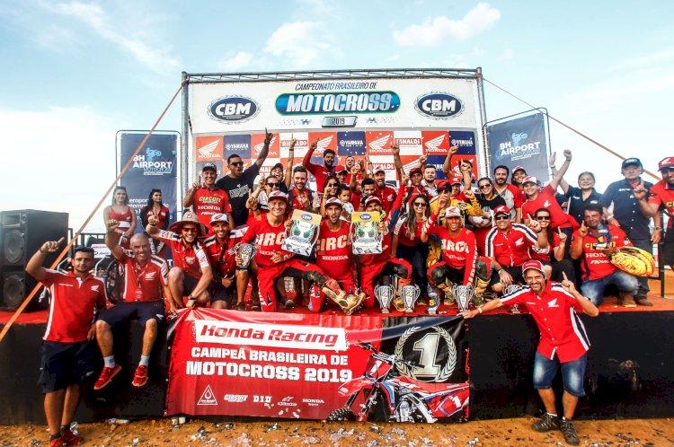 Honda Racing Brasil celebra 37 títulos na temporada 2019