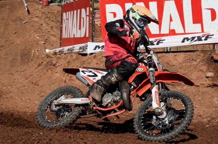 Rafael Becker é vice-campeão sul-brasileiro de motocross