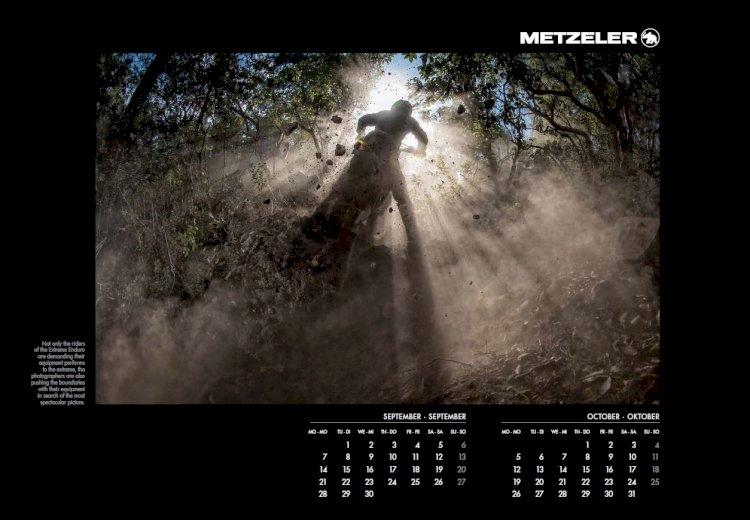 Calendário Metzeler 2020, intitulado Metzeler Extreme