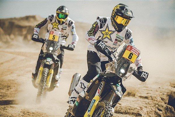 Equipe Husqvarna Rockstar está pronta para o Dakar 2020